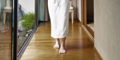 how to get scratches out of bamboo floors