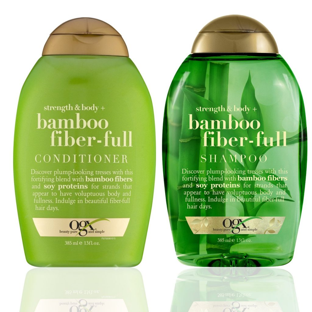bamboo shampoo and conditioner