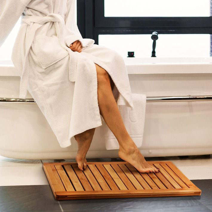 Can you put a bamboo mat in the shower?