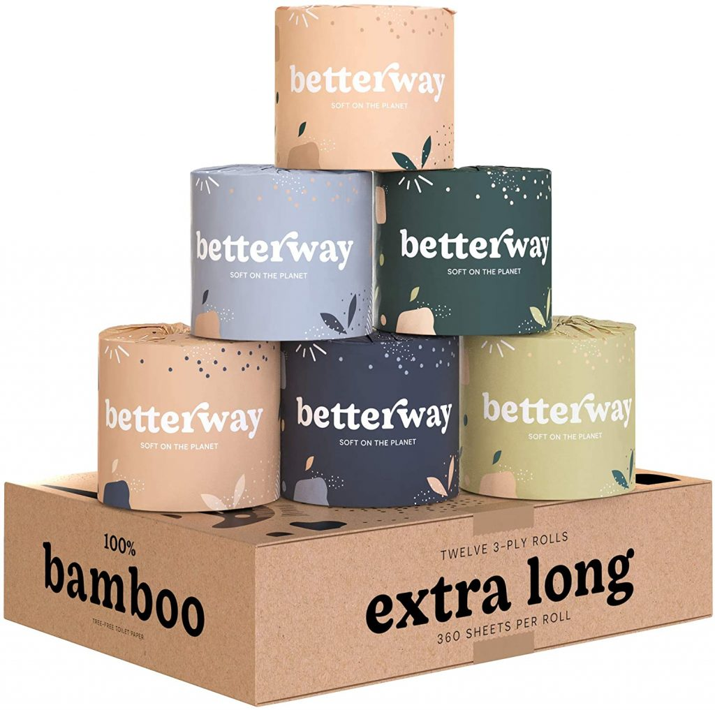 BETTERWAY ORGANIC BAMBOO TOILET PAPER