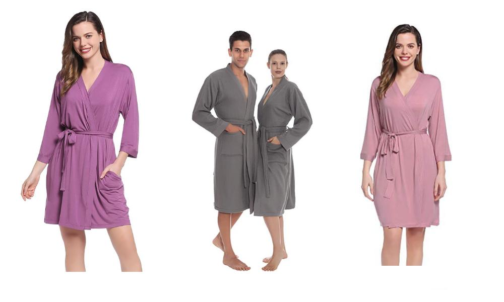 bathrobes for men and women