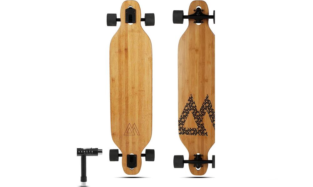 Magneto's simple-looking longboard