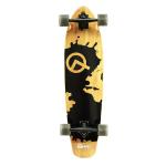 Quest Rorshack 34 inch Complete Longboard Skateboard.