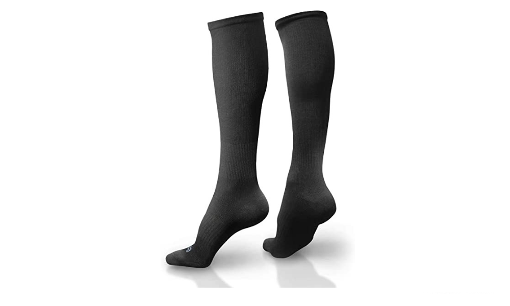 BAMS Compression Socks Women and Men Premium Bamboo Ultra Soft (Knee High)